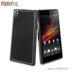 Roxfit Gel Shell Case for Sony Xperia Z1 - Nero Black