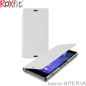 Roxfit Slim Book Sony Xperia Z3 Compact Case - Carbon White
