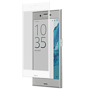 Roxfit Sony Xperia XZ Tempered Glass Screen Protector - White