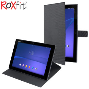 Roxfit Sony Xperia Z / Z2 Tablet Case - Carbon Black