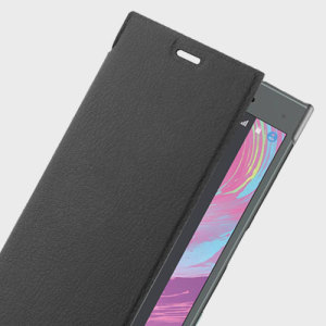 Roxfit Urban Book Sony Xperia X Compact Slim Case - Black