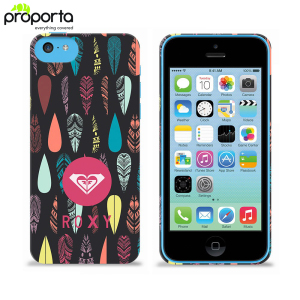 Roxy Hard Shell fo Apple iPhone 5C - Ethnic Feathers