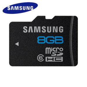 Samsung 8GB MicroSD HC Card - Class 6 dnuu