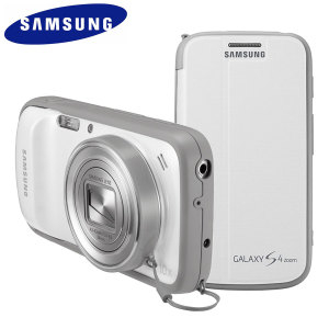 Samsung Flip Cover + for Samsung Galaxy S4 Zoom - White