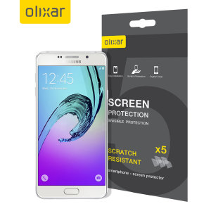 Olixar Samsung Galaxy A7 5-in-1 Screen Protector Pack