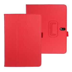 Samsung Galaxy Note 10.1 2014 Folio Case - Red