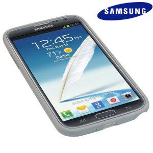 Samsung Galaxy Note 2 Protective Hard Case EFC-1J9BWEGSTD - White