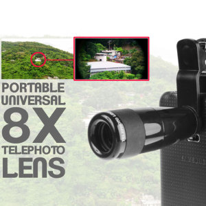 Samsung Galaxy Note 4 Long Range Telescope Photo Lens Attachment