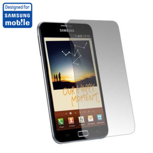Samsung Galaxy Note Clear Screen Protector - SAMGNSP2