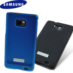 Samsung Galaxy S2 Mesh Case Twin Pack - Black/Blue