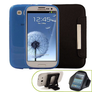 Samsung Galaxy S3 Case Pack - Blue