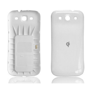 Samsung Galaxy S3 Qi Wireless Charging Back Cover - White
