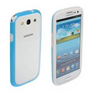 Samsung Galaxy S3 Rubber Bumper - Blue