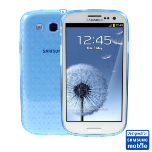 Samsung Galaxy S3 TPU Case - Blue