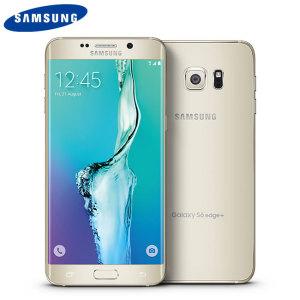 Samsung Galaxy S6 Edge Plus SIM Free - Unlocked - 32GB - Gold Platinum