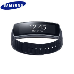 Samsung Gear Fit Smartwatch - Charcoal Black