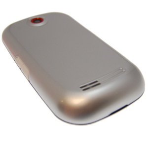 Samsung Genio Touch Back Cover - Silver
