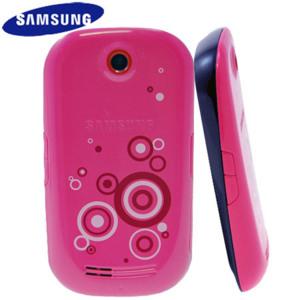Samsung Genio Touch Fashion Jacket - Pink Swirls