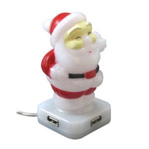 Santa 4-Port USB Hub