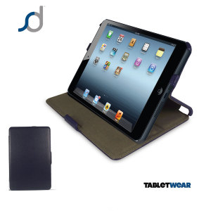 SD Multi-Angle  Wake / Sleep Slim iPad Mini 2 / iPad Mini Case - Blue