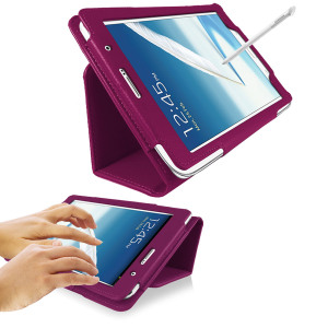SD Stand and Type Case for Samsung Galaxy Note 8.0 - Purple