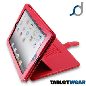 SD TabletWear Advanced iPad 4 / 3 / 2 Case - Red