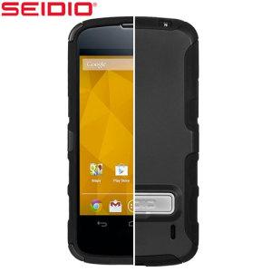 Seidio Dilex Case for Google Nexus 4 with Kickstand - Black