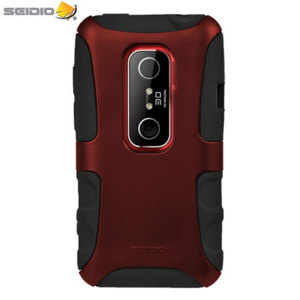 Seidio Dilex Case for HTC Evo 3D - Burgundy