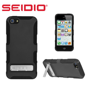 Seidio Dilex Case for iPhone 5S / 5 with Kickstand - Black