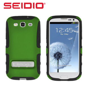 Seidio Dilex Case For Samsung Galaxy S3 With Kickstand - Green