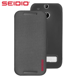 Seidio LEDGER HTC One M8 Case with Metal Kickstand  - Grey