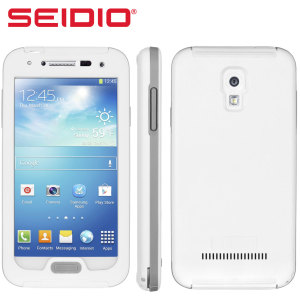Seidio OBEX Waterproof Case for Galaxy S4 - White / Grey