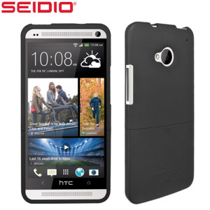 Seidio Surface Case for HTC One M7 - Black
