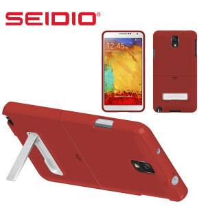 Seidio SURFACE Case with Kickstand for Samsung Galaxy Note 3 - Red