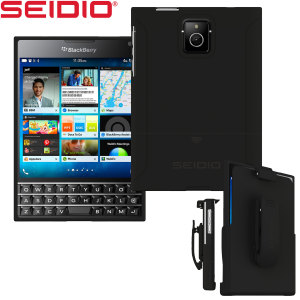 Seidio SURFACE Combo BlackBerry Passport Case - Black