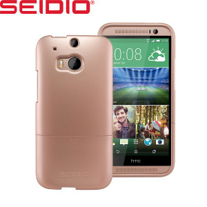 Seidio SURFACE HTC One M8 Case - Gold