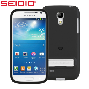 Seidio SURFACE with Metal Kickstand for Samsung Galaxy S4 Mini - Black