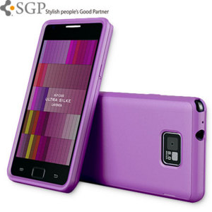 SGP Ultra Silke Series for Samsung Galaxy S2 - Purple