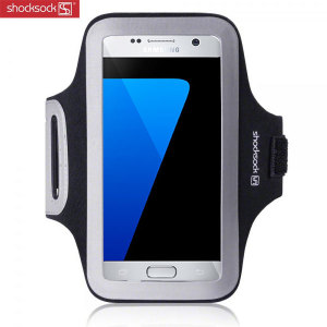 Shocksock Sports Samsung Galaxy S7 Armband - Black