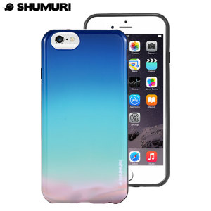 Shumuri Duo iPhone 6S / 6 Case - Aurora Blue