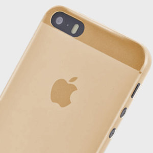 Shumuri Slim iPhone SE Case - Champagne Gold