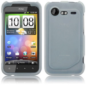 Silicone Case for HTC Incredible S - Clear