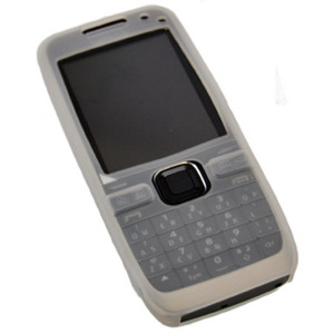 Silicone Case for Nokia E55 - White