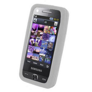Silicone Case for Samsung Pixon12- Ice