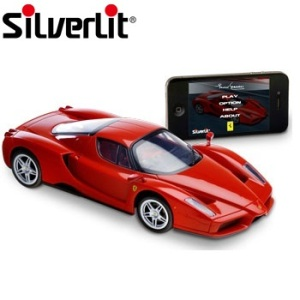 Silverlit Ferrari Enzo Apple App Controlled Car - Red