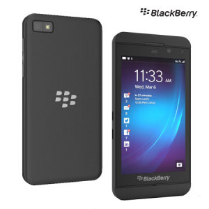 Sim Free Blackberry Z10 - Black