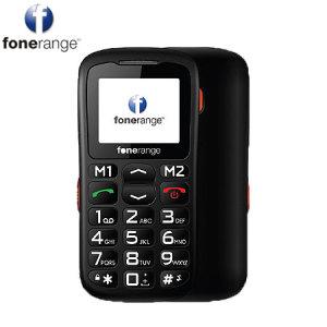 Sim Free Fonerange Basic Friendly Big Button - Black