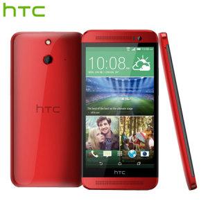 SIM Free HTC One E8 Dual Sim - 16GB - Electric Crimson