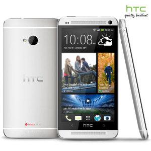 Sim Free HTC One M7 - Silver
