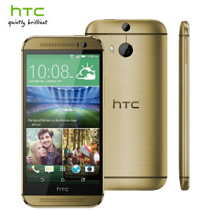 SIM Free HTC One M8 Unlocked - 16GB - Gold